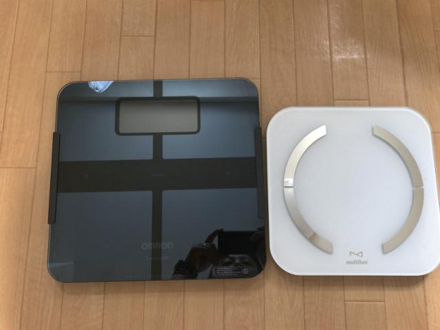 オムロンと新しい体重計