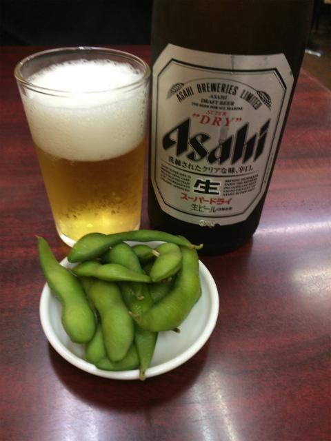 ビールとツマミ